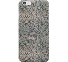 Soft Gray and Pink Snake Skin iPhone Case/Skin