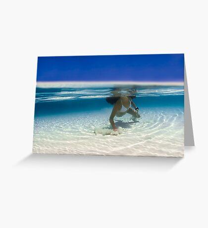 Siren of the Lagoon Greeting Card