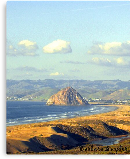 The Rock at Morro Bay by BarbaraSnyder