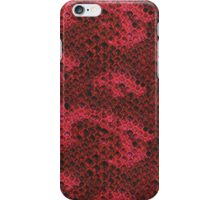 Hot Pink and Black Snake Skin iPhone Case/Skin
