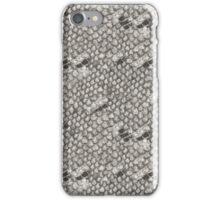 Gray and Black Snake Skin iPhone Case/Skin