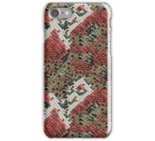 Red and Black Coral Snake Skin iPhone Case/Skin