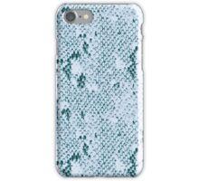 Turquoise Snake Skin iPhone Case/Skin