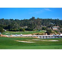 Yacht Club at Pebble Beach Photographic Print