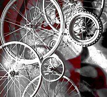 Bike Spokes by Michael Andersen