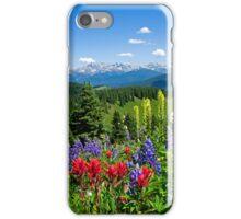 Mountain Wildflowers iPhone Case/Skin