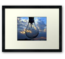 In Search of Nature's Ray Framed Print