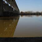 Lock and Dam at Pine Bluff, Ark USA by WildestArt