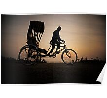 Cycle Rickshaw Poster