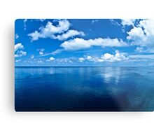 Over a Blue Horizon Metal Print