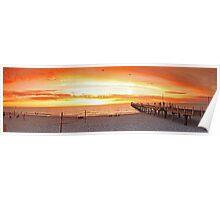 Henley beach Panorama Poster