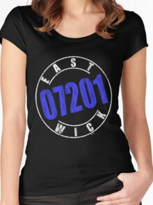'Eastwick 07201' (w) Women's Fitted Scoop T-Shirt