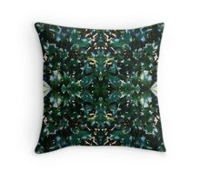 Ilex pattern Throw Pillow