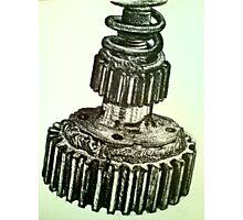 'Mechanics' Ink Observational Photographic Print