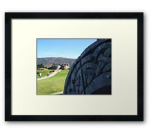 Toward Urquhart Castle, Loch Ness Framed Print