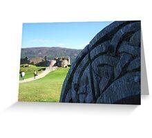 Toward Urquhart Castle, Loch Ness Greeting Card