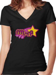 rm -rf * Women's Fitted V-Neck T-Shirt