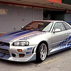 Skyline GT-R by mirko9