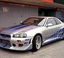 Skyline GT-R by mirko9