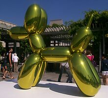 Giant Balloon Poodle Dog by Katherine Case