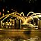 Liquid Gold Night Fountain - Charleston, SC by Kathy Baccari