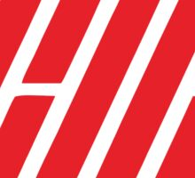 iKON logo red Sticker