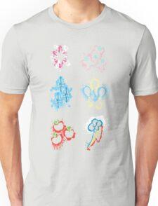 MLP Splatter Cutie Marks Unisex T-Shirt