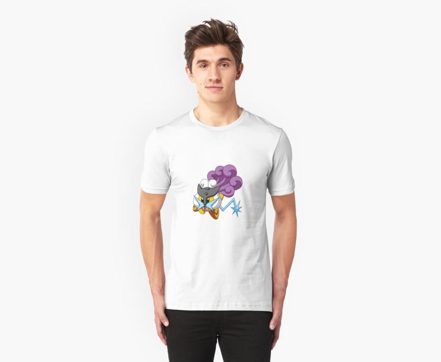 Pokémon Kirby Raikou by savestones