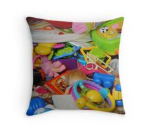 children toys Throw Pillow