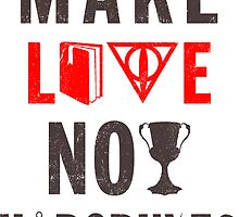 Make Love Not Horcruxes (Vintage) by Look Human