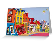 Sheaf Street, Daventry, England. Greeting Card