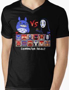 SPIRIT FIGHTER Mens V-Neck T-Shirt
