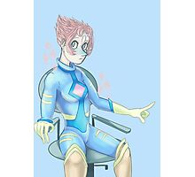 Space Suit Pearl !! Photographic Print