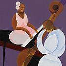 Lavender Jazz, 2007 (oil and acrylic on canvas) by Bridgeman Art Library