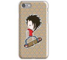 Skateboarder Teenage Boy Cartoon iPhone Case/Skin