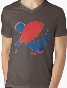Pepsi Person Mens V-Neck T-Shirt