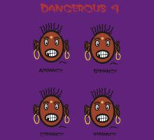Dangerous four by NikunjVasoya
