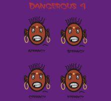 Dangerous four by NikunjVasoya