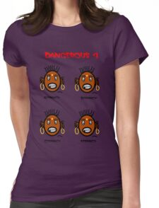 Dangerous four Womens Fitted T-Shirt