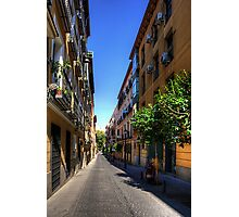 Old Quarter of Madrid Photographic Print