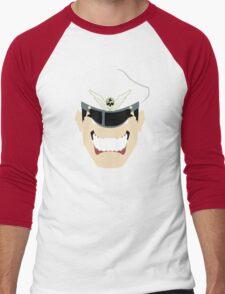 MBison Minimalistic Design Men's Baseball ¾ T-Shirt