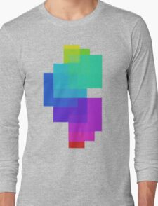 Color Squares Long Sleeve T-Shirt