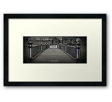 Congleton Park Framed Print