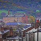 "Macclesfield - ""Hills & Mills"" by thepicturedrome"