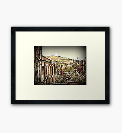 Croker Hill from Macclesfield Framed Print