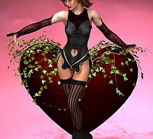 Be My Valentine by Sandra Bauser Digital Art