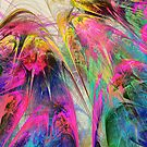 Fractal - Tropical Flowers by Susan Savad