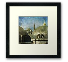 Typical topic Framed Print
