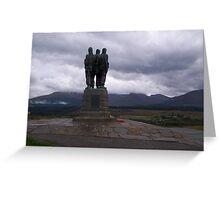 The Commando Memorial, Spean Bridge Greeting Card
