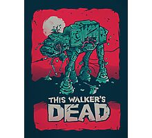 Walker's Dead Photographic Print